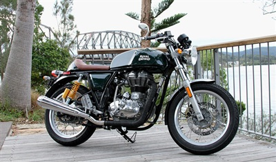 Royal Enfield Continental GT.